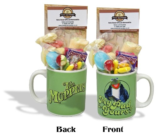 Kermit Muppets Mug with a muppet portion of 70's Sweeties