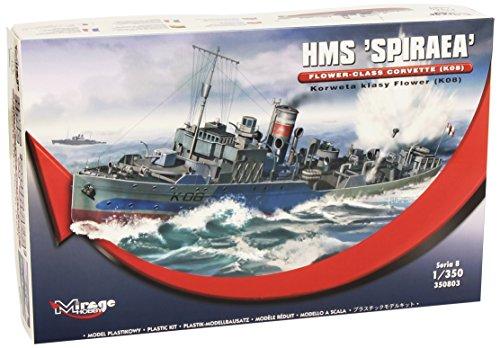 Maqueta de barco escala 1:350