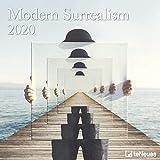 Art Calendar - Modern Surrealism 2020 Square Wall Calendar