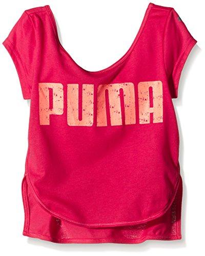 PUMA Kinder T-Shirt Active Dancetee G, Rose Red, 164, 836668 24
