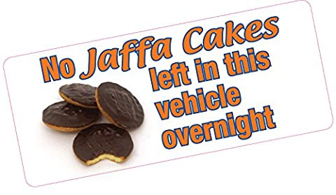 No Jaffa Cakes Left in Vehicle Overnight Comedy Funny Car