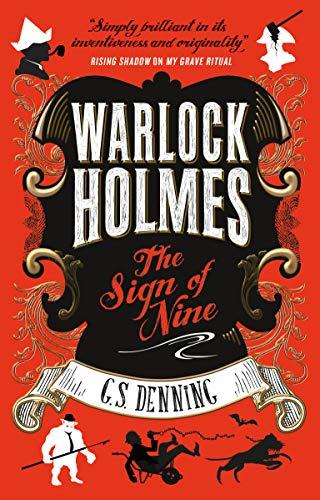 Warlock Holmes - The Sign of Nine - Shop Street Sign
