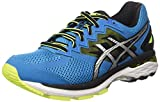 Asics Gt-2000 4 Herren Laufschuhe, Blau (Blue Jewel/Black/safety Yellow), 44 EU