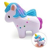 VSTON Unicornio Squishy Slow Rising  Jumbo Kawaii Squishy Toy Scenteze Squeeze Stress Relief para Niños Colección Squishies Girls Gift de VSTON