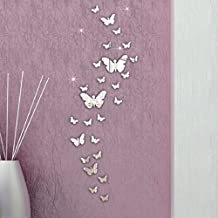 Vovotrade 30PC Farfalla Combinazione 3D Specchio Wall Stickers fai da te