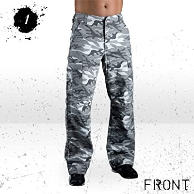 Hornee SA-M10 Regular Fit Jeans Desert Camo - Short Leg