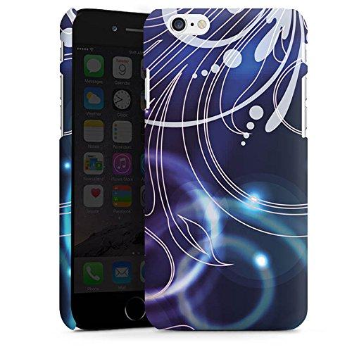Apple iPhone X Silikon Hülle Case Schutzhülle Ornamente Blumen Seifenblasen Premium Case matt