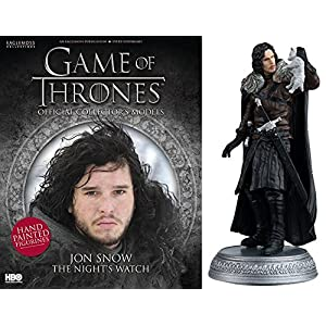 HBO - Figura de Resina Juego de Tronos. Game of Thrones Collection Nº 13 Jon Snow 4