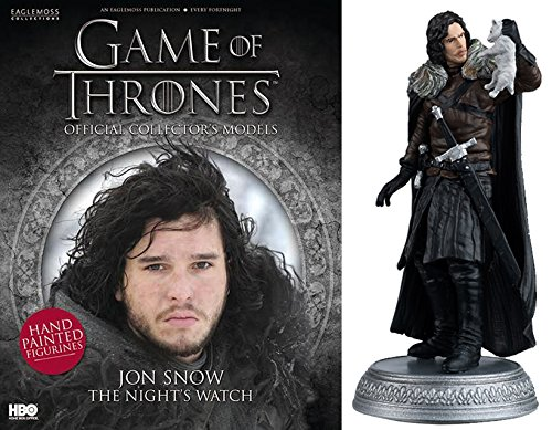 HBO - Figura de Resina Juego de Tronos. Game of Thrones Collection Nº 13 John Snow
