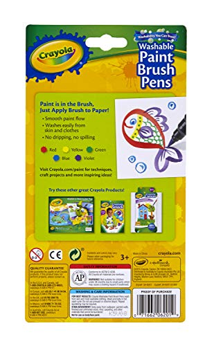 Imagen principal de Crayola 5 plumas de la pintura Pincel