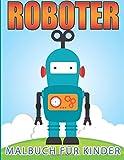 Roboter-Malbuch für Kinder