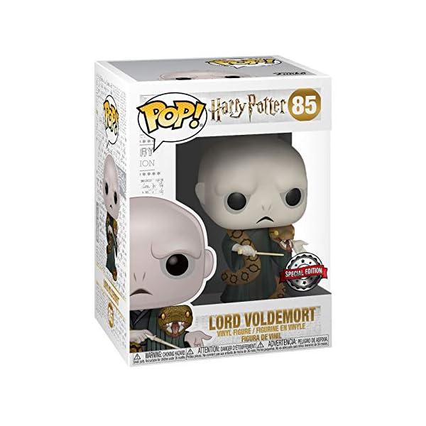 Funko Pop Lord Voldemort con Nagini (Harry Potter 85) Funko Pop Harry Potter