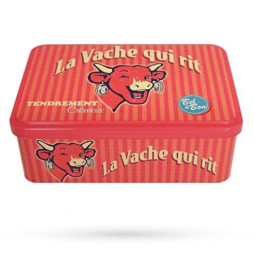 La Vache Qui Rit - Boîte Métal Vintage 60'S Rouge