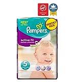 Pampers Active Fit Windeln Größe 5 Monatspackung - 136 Windeln - Packung mit 2