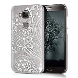kwmobile Huawei G8 / GX8 Hülle - Handyhülle für Huawei G8 / GX8 - Handy Case in Weiß Transparent