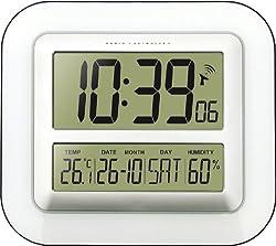 Technoline WS 8006 Radio Control LCD Wall Clock ( DCF-77 signal German Version )