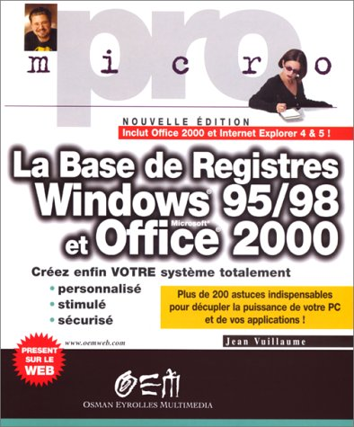 Base de registre Windows 95 et 98