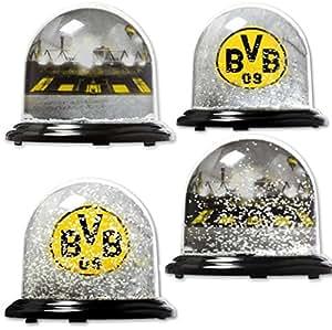 Borussia dortmund schneekugel traumkugel sch ttelkugel weihnachtsdeko bvb 09 - Amazon weihnachtsdeko ...
