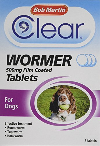 Artikelbild: Bob Martin All in One Dewormer Tablets for Large Dogs, 500 mg