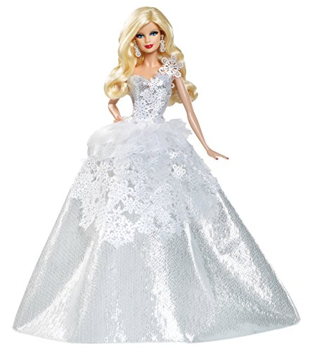 Mattel Barbie X8271 - Collector 25 Jahre Holiday Doll 2013, Sammlerpuppe
