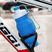 Kyansin 530ml BPA liberan la botella de agua plegable del deporte del silicón para la botella