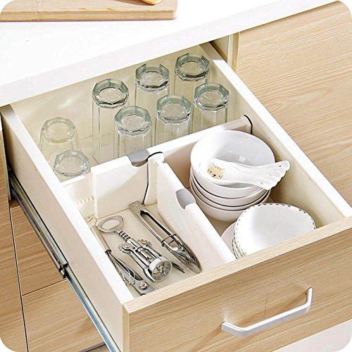 Loti Houseware ajustable organizador/separadores...