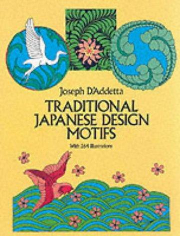 Traditional Japanese Design Motif (Dover Pictorial Archive) par Joseph D'Addetta