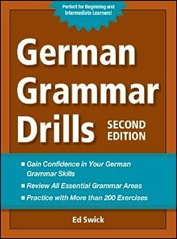 German Grammar Drills von [Swick, Ed]