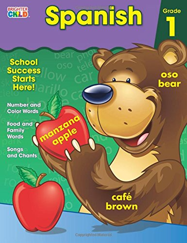 Spanish Workbook, Grade 1 (Brighter Child: Grades 1)