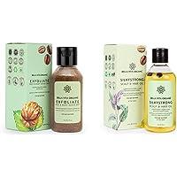 Bella Vita Organic Face & Body Scrub for Skin Brightening De-Tan Ayurveda, Exfoliate Knees, Elbows, Face, Scalp, Arms…