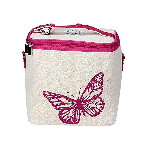 KonJin Lunchbox Tasche Lunch Bag Kühltasche Isoliert Thermotasche Lunch Bag für Erwachsene/Männer/Frauen/Kinder Aus reiner Baumwolle gedruckt Eisbeutel Isolierung Tasche Kann Schulter Hand Carry