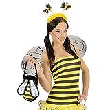 Bienen Haarreif Bienenhaarreif Haarreifen Bienenhaarreifen Fühler Biene Kostüm Zubehör Bienenfühler