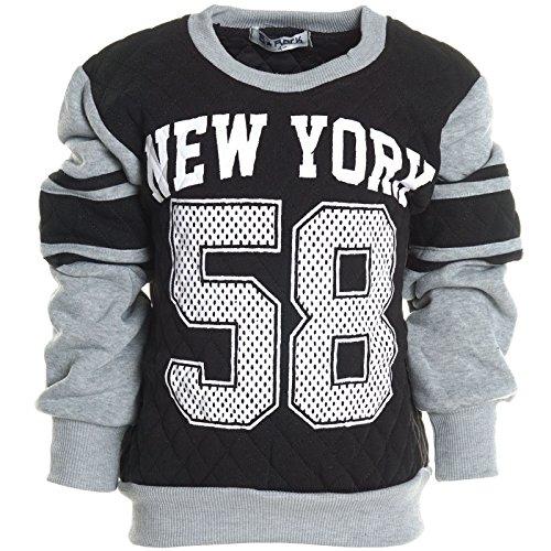 Kinder Pullover Rundhalspullover Hoodie Sweat Jacke Langarm Shirt Winter 20566