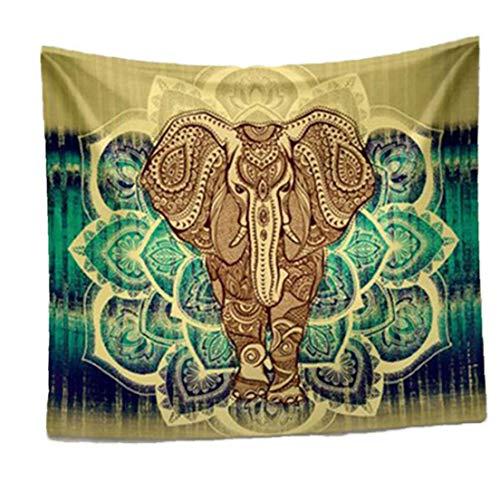 Elefante étnico Mandala Tapiz Tapiz Tapiz Manta granja decoración de playa Mat Mantón Yoga