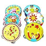 Instruments De Musique Best Deals - Cadeau de Noël pour bébé, Amlaiworld Main Bell tambourin instruments de musique jouets