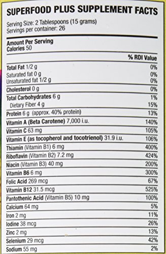 Dr. Schulze's Superfood Plus Powder - 400 Gram Test