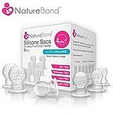 naturebond Silikon SAC X 6Für Babynahrung/Fruit Feeder (alle Größen) | BPA frei, Blei frei, Latex & Phthalate frei getestet und zertifiziert