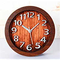 DIDADI Alarm clock 3D Stereo Metall digitale Wecker kreative Schreibtisch Jong-Ladestation, wenn Uhren Holz alarm... preisvergleich bei billige-tabletten.eu