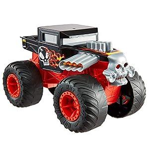 Hot Wheels Monster Trucks - Vehículo Bone Shaker 1:24, coches de juguetes para niños +3 años (Mattel GCG07)