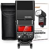 Neewer 2,4G Wireless TTL Blitz HSS 1 / 8000s GN36 Master Slave Blitzgeräte mit Hartdiffusor (NW400o) für Olympus E-M10II M5II M1 E-PL8 PL7 PL6 PL5 P5 P3 PU-P, Panasonic DMC-GX85 G7 GF1 LX100 G85 Kameras