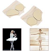 Dioche Footundeez, Damen Ballett Bauchtanz Fuß Thongs Tanz Pfote Halbsohle Fitness Pads preisvergleich bei billige-tabletten.eu