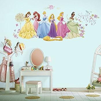 Asian Paints Nilaya Disney Glow Princess Peel & Stick Wall Decals