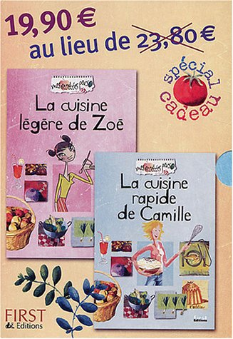 Coffret - 2 recettes perso, Zoé + Camille