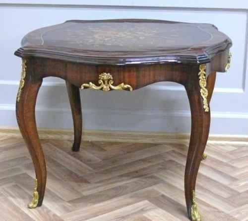LouisXV Barock Tisch Antik Stil Beistelltisch MoTa0033-1 antik Stil Massivholz. Replizierte...