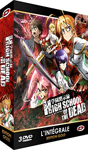 Coffret intégrale high school of the dead [Francia]...