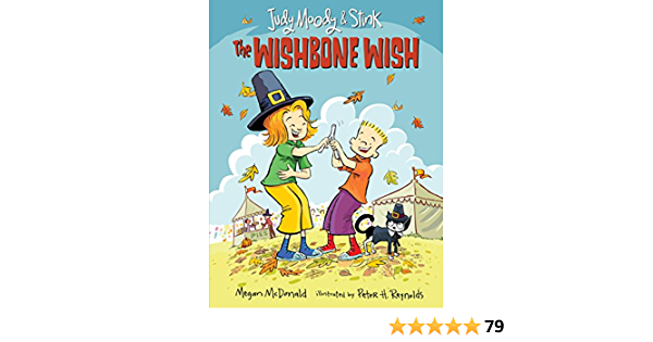 Judy Moody And Stink The Wishbone Wish Amazon De Mcdonald Megan Reynolds Peter H Fremdsprachige Bucher