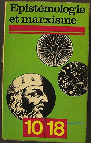 Epistémologie et Marxisme