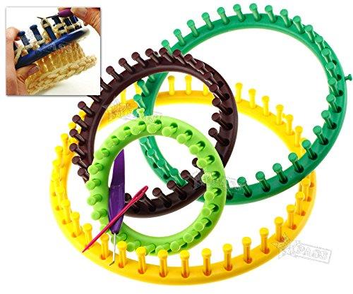 Generic.. nitting Socke strickliebhaber Schal hat bei RO Webstühlen strickliebhaber Strick-Ring Set nitt rund Stricken FT KIT Craft Kit ES..