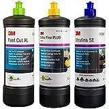 3M Politur Set Schleifpaste Plus XL Extra Fine Ultrafina SE 1Liter