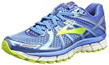 Brooks Damen Adrenaline GTS 17 Gymnastikschuhe, Blau (Azure Blue/Palace Blue/Lime Punch), 38 EU